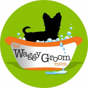 Waggy Groom Room Logo